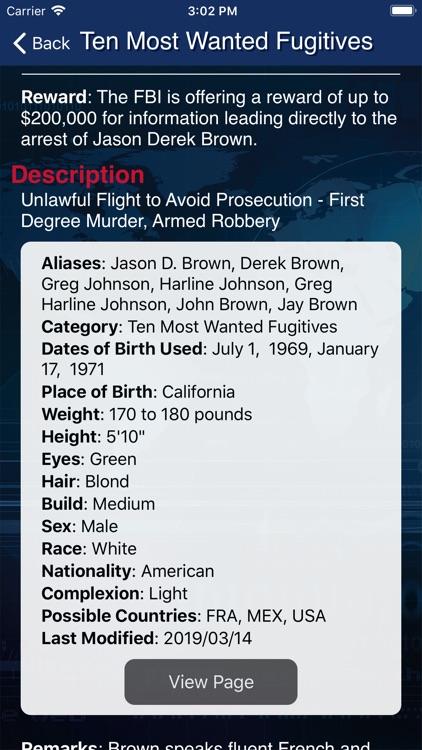FBI Wanted screenshot-4
