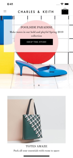 ead5456950 CHARLES   KEITH on the App Store