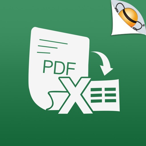 PDF to Excel