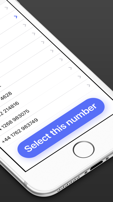 Screenshot for Second Phone Number in Ireland App Store