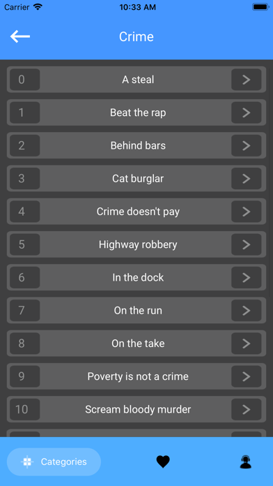 English Idioms Lite screenshot 3