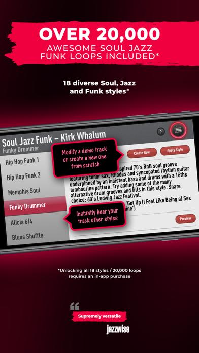 SessionBand Soul Jazz Funk 2 screenshot 4