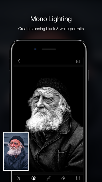 Phocus: Portrait mode editor Screenshots