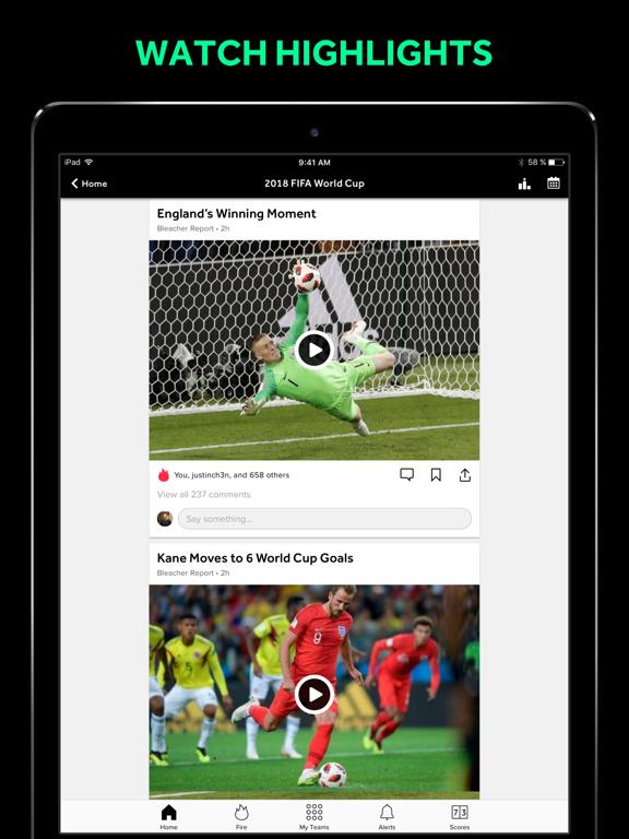 Team Stream: Sports news, scores, & highlights screenshot