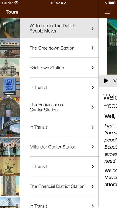 Detroit History Tours Screenshot