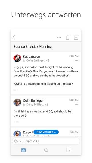 Herunterladen Microsoft Outlook für Android