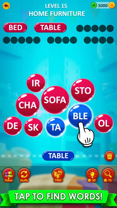 Word Game 2021 : Word Connect screenshot three