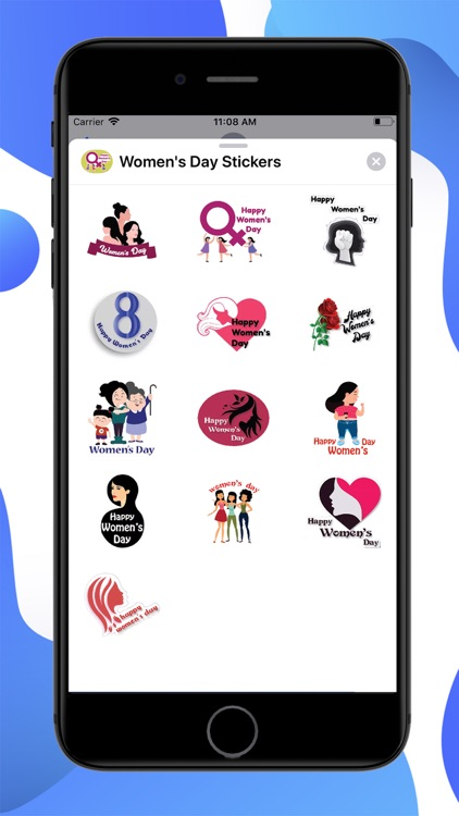 Womens Day Stickers