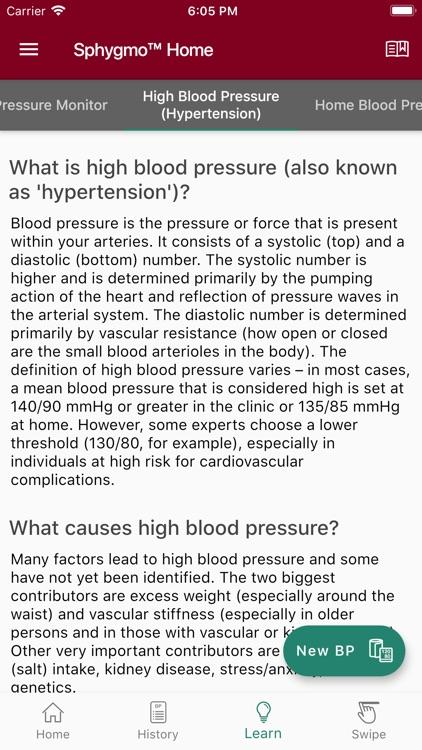 Sphygmo Home Blood Pressure screenshot-8