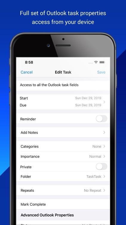 TaskTask for Outlook Tasks