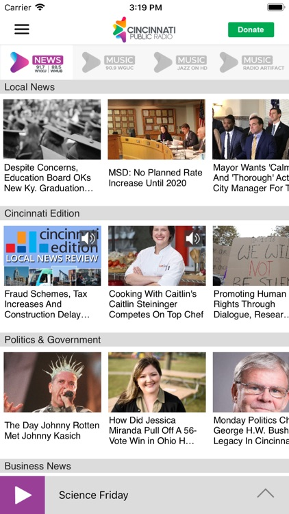 WMUB Public Radio App screenshot-1
