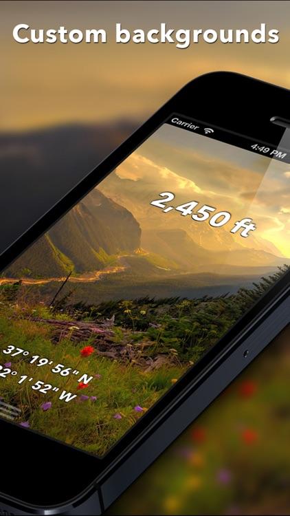 Travel Altimeter & Elevation screenshot-3