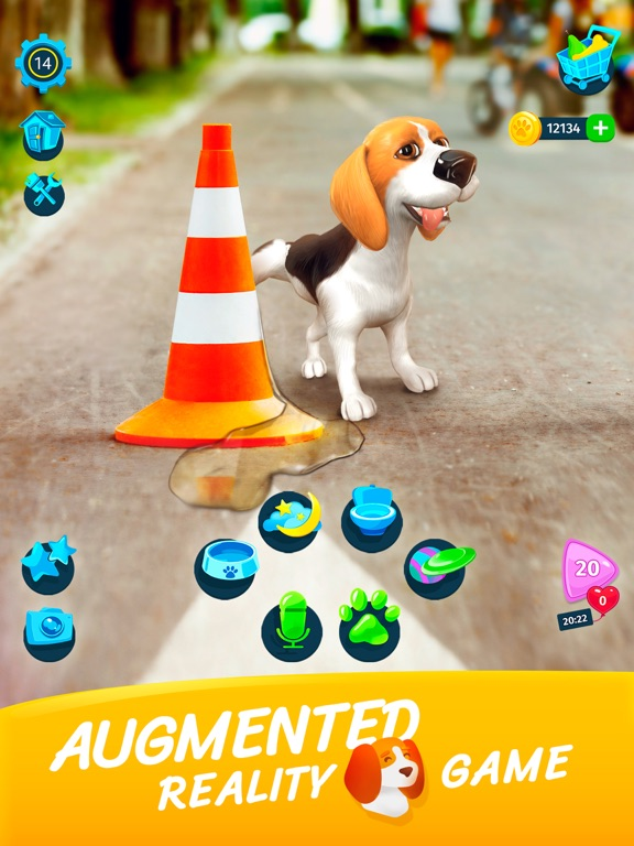 TamaDog! - AR Puppy Games screenshot 7