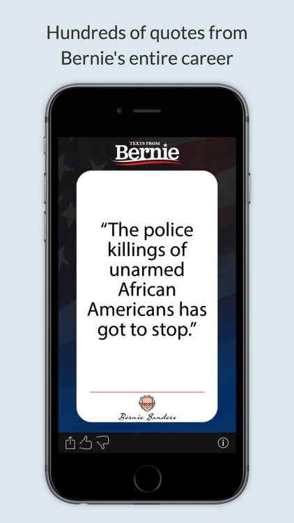 Texts From Bernie Sanders screenshot-3