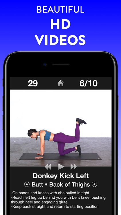 Daily Workouts Fitness Trainer screenshot-3