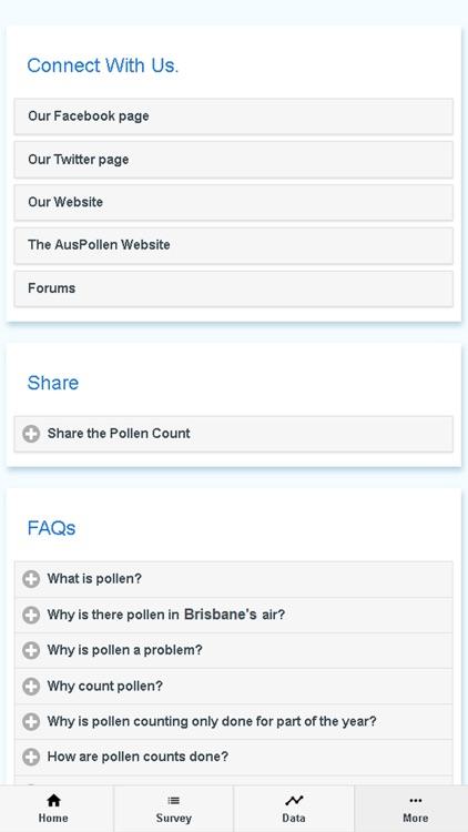 Brisbane Pollen Count screenshot-3