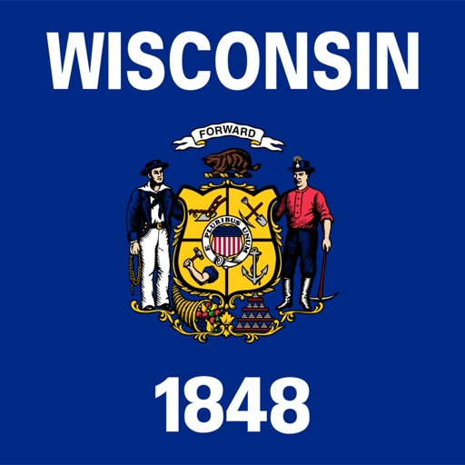 Wisconsin emoji - USA stickers