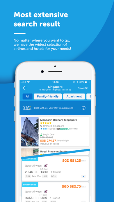 Download Traveloka Book Flight & Hotel for Pc