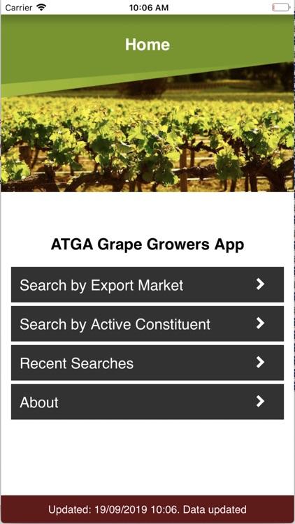 ATGA MRLs Search