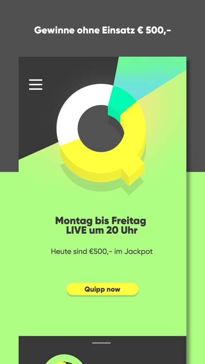 Quipp - die Live Quiz-App