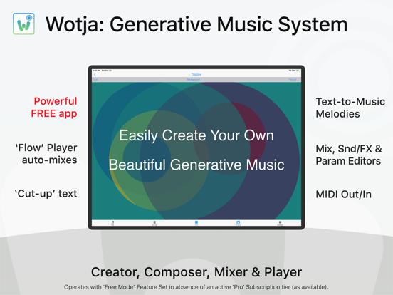Wotja: Generative Music System
