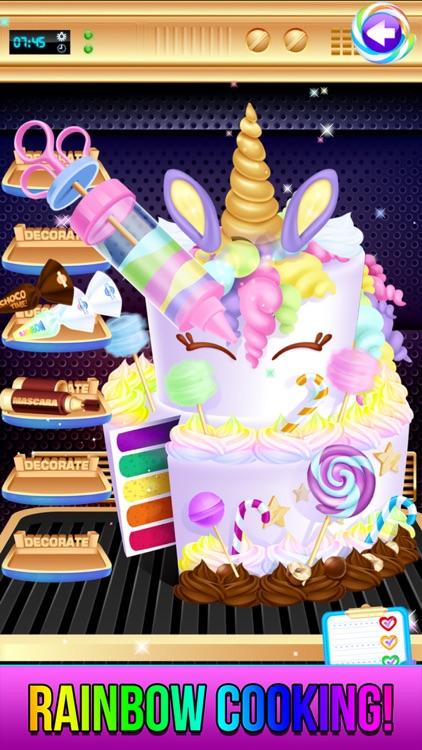Rainbow Unicorn Candy Salon screenshot-7