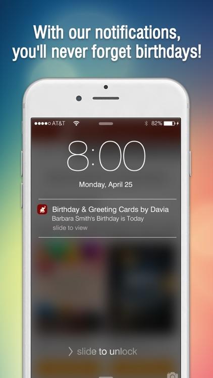 Birthday Cards By Davia Screenshot 3