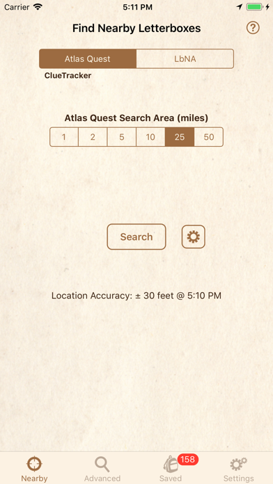 Clue Tracker For Letterboxing review screenshots