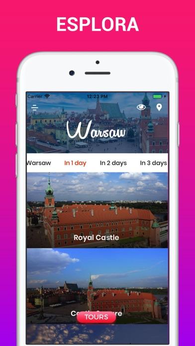 Screenshot of Varsavia Guida di Viaggio3