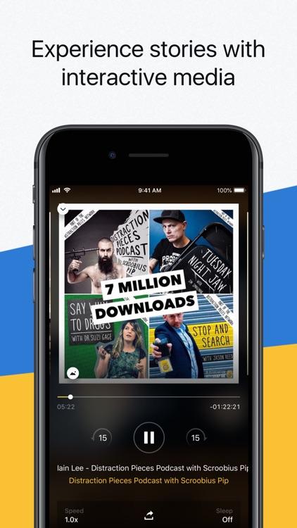 Acast - Podcast Player screenshot-4