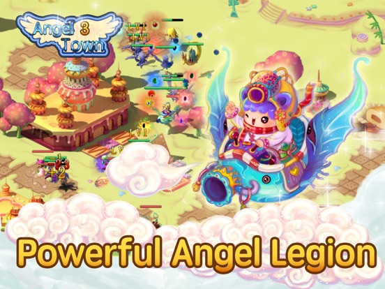Angel Town 3- new idle games Screenshots