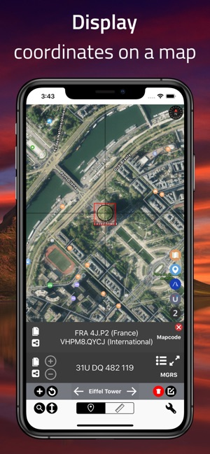 Coordinates - GPS Formatter on the App Store on gps trail maps for iphone, google gps cell phone location, maps with gps location, gps tracking cell phone location, gps location find,