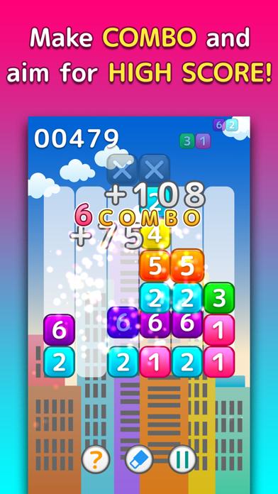 NumPlus - Number Block Puzzle screenshot two
