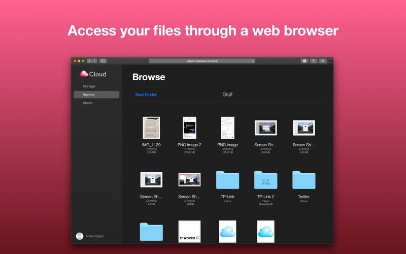 Cloud Server for Mac
