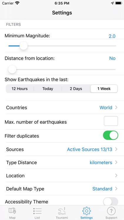 Earthquake Spotter screenshot-6