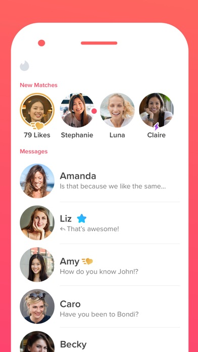 Screenshot for Tinder in Australia App Store