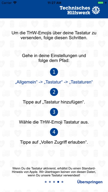 THW Emoji-App screenshot-3