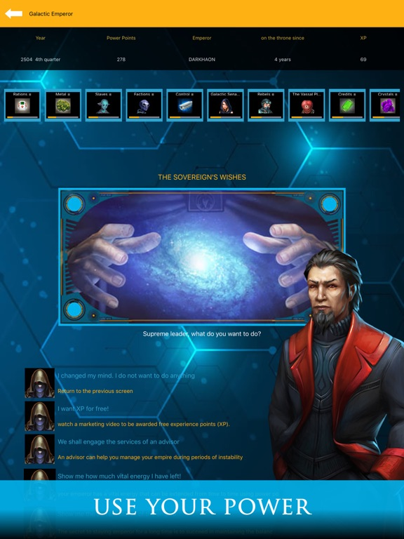Galactic Emperor: Strategy RPG screenshot 11