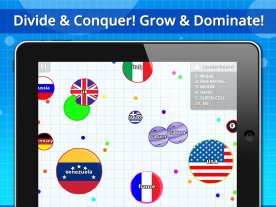 Agar io by Miniclip com (iOS, United Kingdom) - SearchMan