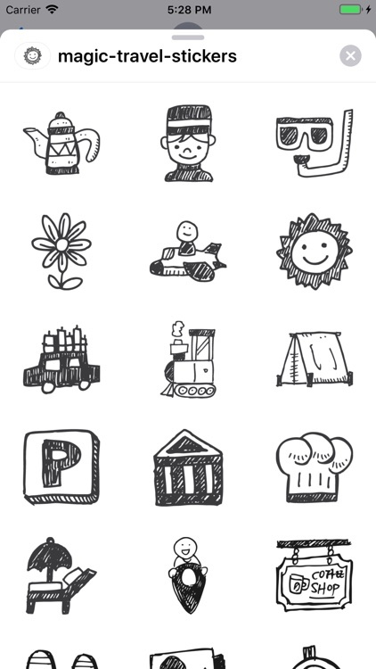 Magic Travel Stickers screenshot-5