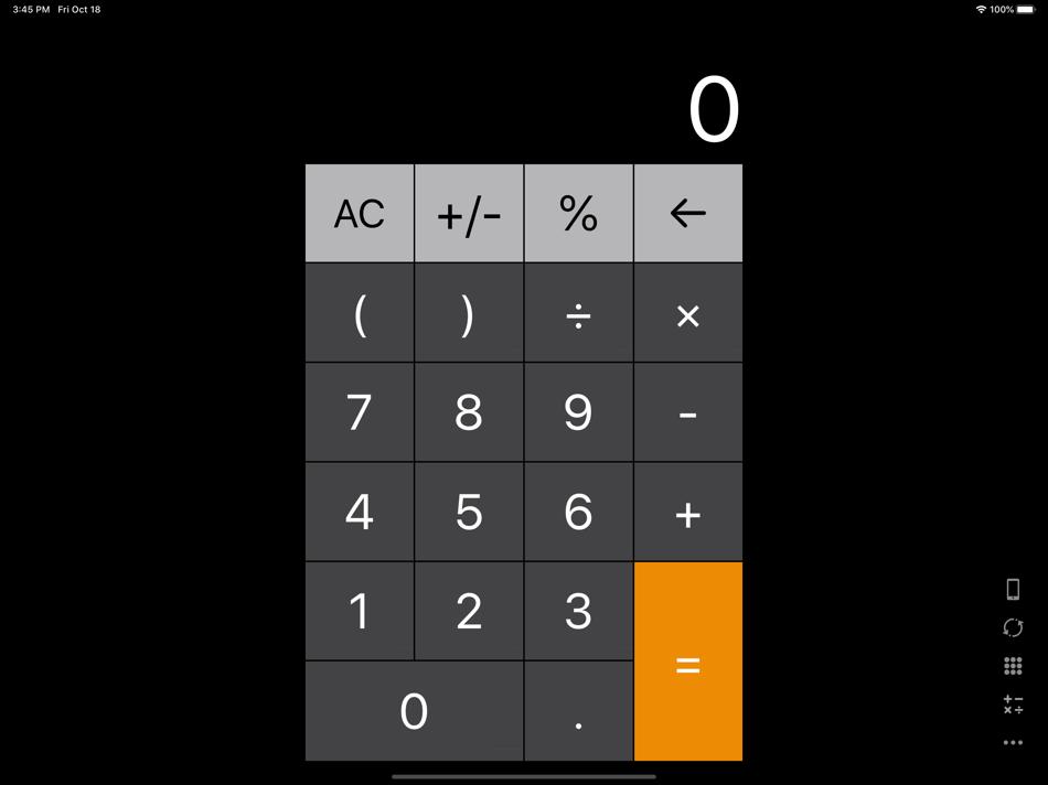 Calculator For Ipad Ios S