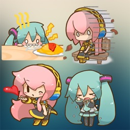 Anime Chibi Stickers Niko HD