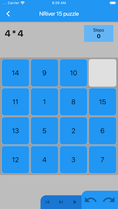 NRiver 15 puzzle screenshot 3