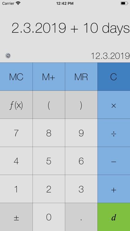My Calculator (incl. currency) screenshot-3