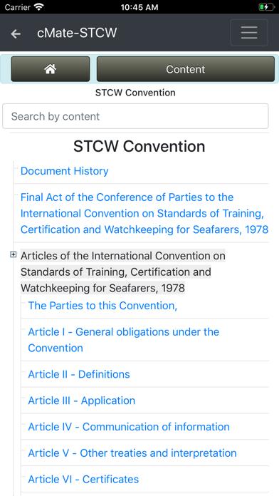 cMate-STCW screenshot #6