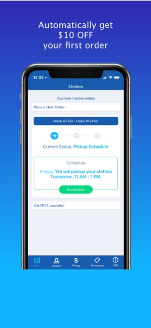 FlyCleaners Laundry On-Demand on the App Store