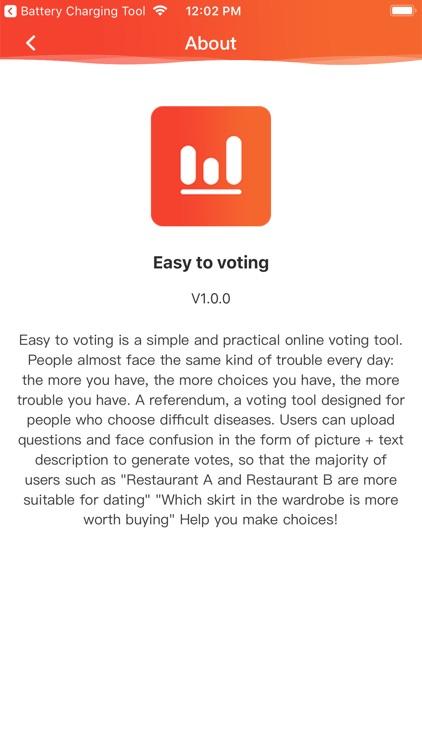 Easy to Voting screenshot-4