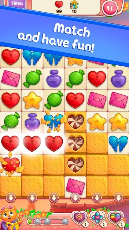 Sweet Hearts Match 3 screenshot-0