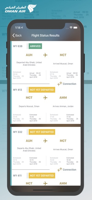 Oman Air on the App Store