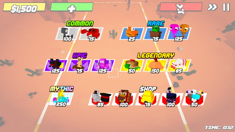 Blocky Defense screenshot-8
